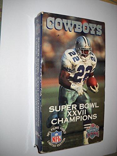 1992 Dallas Cowboys: Super Bowl XXVII Champions [VHS]