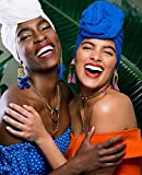 African Head Wraps for Black Women Pretied Turban