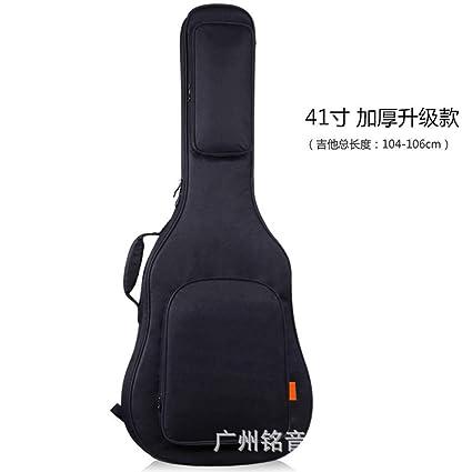 ABCCS Funda de Guitarra Universal [Nuevo Versión Mejorada], Acolchada con 2 Bolsillos para