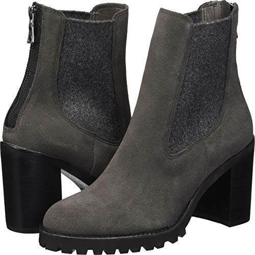 Chinese Laundry Women's Jersey Ankle Boot, Charcoal Suede, 9 M ()