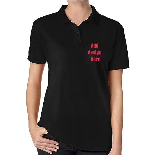 Amazon Com Womens Fashion Polo Shirt Custom Polo Shirt Custom