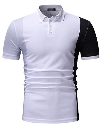 Camisa De Manga Corta para Hombre Fiesta/Trabajo/Eventos ...