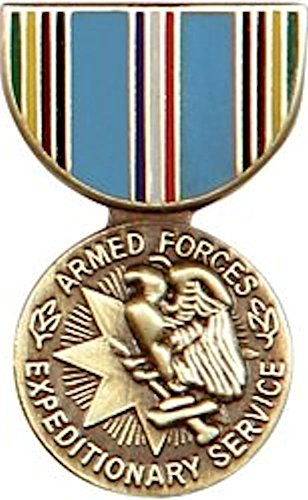 Armed Forces Expeditionary Mini Medal Small Pin ()