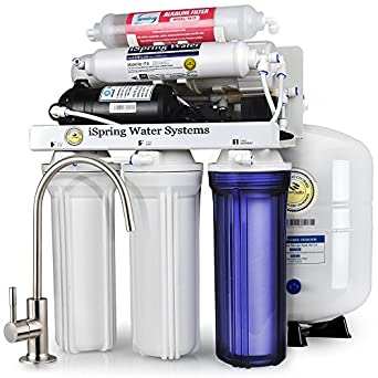 Ispring rcc7p ak 6 stage maximum performance reverse osmosis ispring rcc7p ak 6 stage maximum performance reverse osmosis drinking water filtration system with publicscrutiny Choice Image