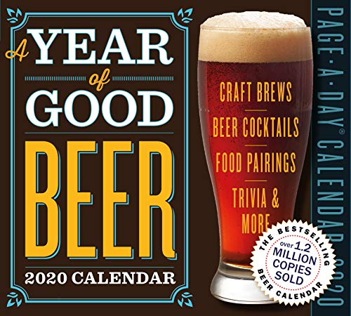 A Year of Good Beer Page-A-Day Calendar 2020 [5.5
