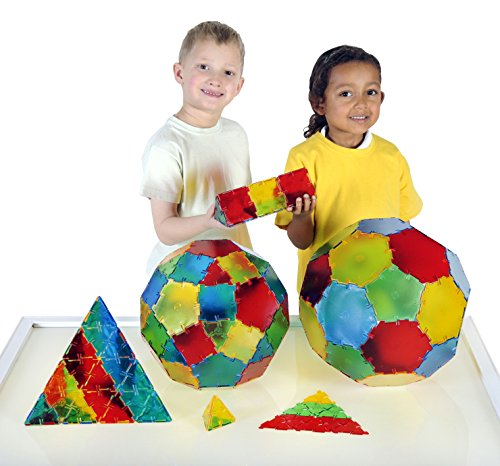 Polydron Translucent Class Set, 184 Pieces by Polydron