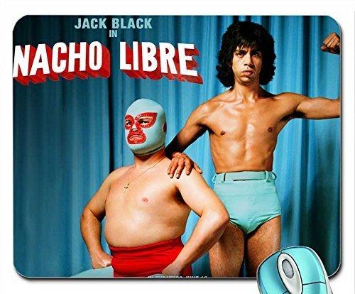 Sports nacho libre jack black 1280x1024 wallpaper mouse pad computer mousepad