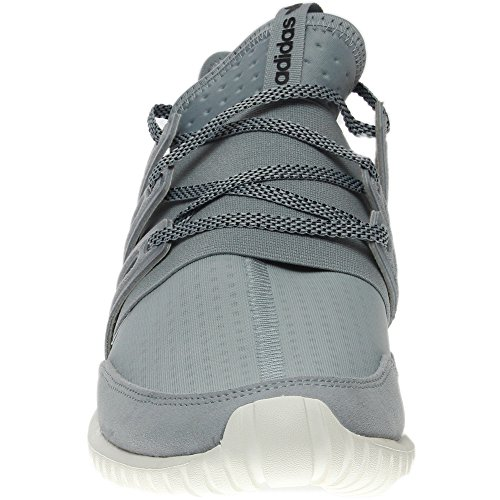 Sneaker Adidas Original Mens Tubular Radial Fashion Grigio Chiaro / Nero-vintage Bianco