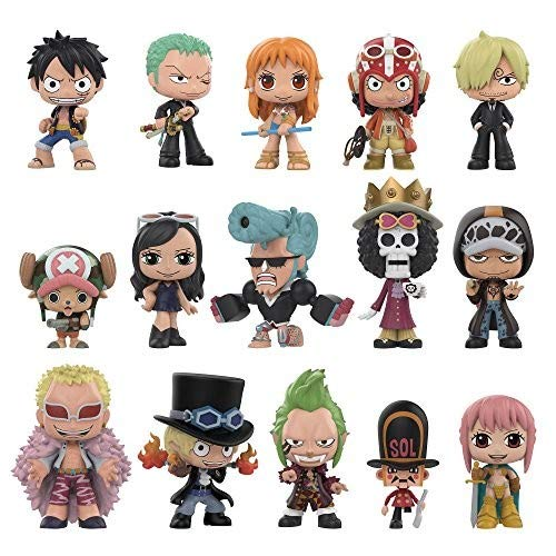 Funko 30608  Mystery Minis: OnepieceOne Mystery Figure, , Multicolor