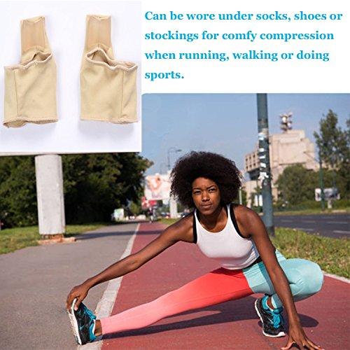 eProda Bunion Corrector - Orthopedic Foot Pain Relief Sleeves Kit with Massage Ball Bunion Splint & 3 Pairs Toe Separators Spacers for Men & Women - Stop Plantar Fasciitis Hammer Toes Hallux Valgus by eProda (Image #8)