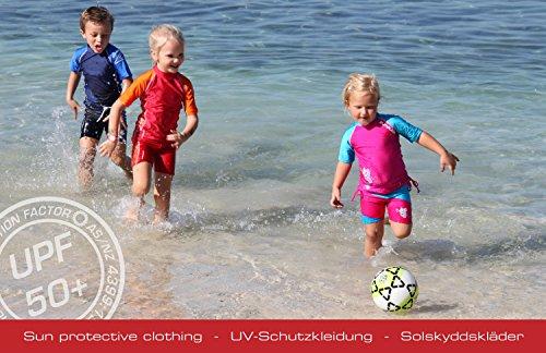 Zunblock UV Schutzkleidung Badeschuhe - Zapatos para niños, infantil Negro