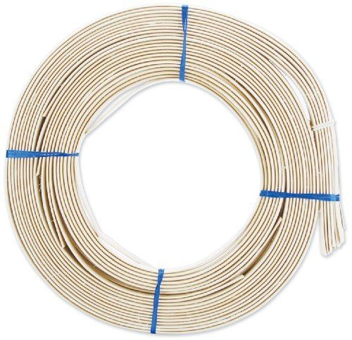 - Commonwealth Basket Flat Oval Reed 1/2-Inch 1-Pound Coil, Approximately, 90-Feet by Commonwealth Basket