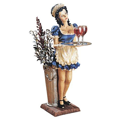 Design Toscano Genevieve, the Buxom French Maid Server