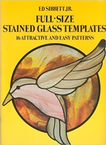 Full size stained glass templates 16 attractive and easy patterns full size stained glass templates 16 attractive and easy patterns sibbett 9780486237442 amazon books maxwellsz