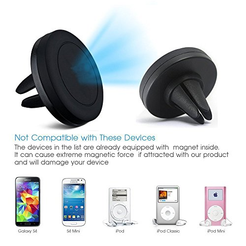 Air Vent Magnetic Car Mount Holder with Fast Swift-Snap Tech