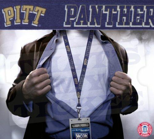 WinCraft NCAA University of Pittsburgh Lanyard with Breakaway, 3/4