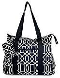 Ever Moda Whale Tote Bag X-Large