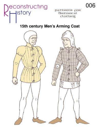 15th Century Burgundian Arming Coat Pattern ()