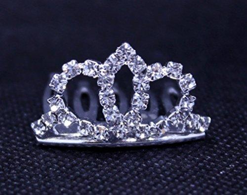 Exquisite Rhinestones Crystal Photo Prop Newborn Baby/Flower Girl Tiara Crown
