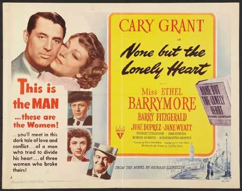 Amazon.com: None But the Lonely Heart POSTER Movie (22 x 28 Inches - 56cm x  72cm) (1944) (Half Sheet Style A): Posters & Prints