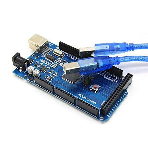 NJPOWER 3D Printer Accessories mega 2560 R3 Development Board Improved Version with USB Cable 1pcs
