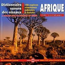 Afrique: Dictionnaire Sonore des Oiseaux DÀfrique