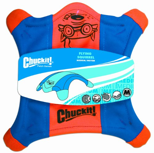 Chuckit! Medium Flying Squirrel 10-Inch, My Pet Supplies
