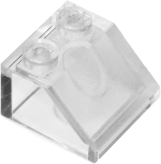 LEGO Parts and Pieces: Transparent Clear 2x2 45 Slope x20