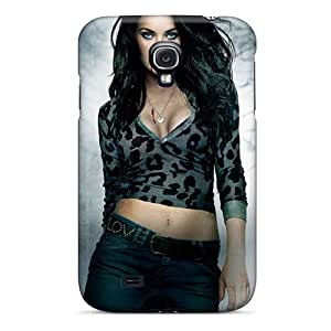 Protective Hard Phone Case For Galaxy S4 With Unique Design High-definition Megan Fox In Jennifers Body Poster Skin No1cases