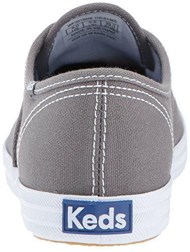 Text Top Graphite Champion Sneakers Grau Low Damen Keds TaxFgqnwg