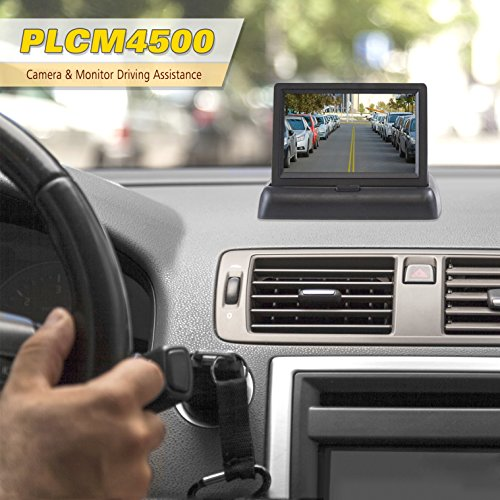 """Car System - Parking & Lines, Night Pop-up 4.3"""" Video Display Vehicles -"""