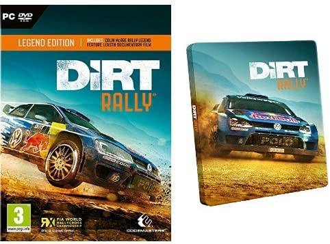 Dirt Rally - Legend Edition + Steelbook: Amazon.es: Videojuegos