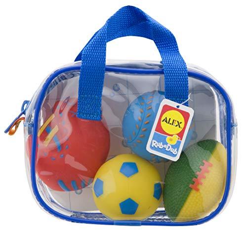 ALEX Toys Rub a Dub Bath Squirters Sports ()