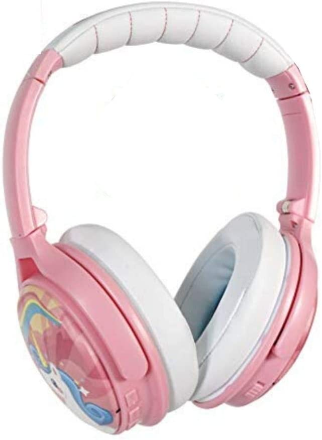 Active Noise-cancelling and Volume-Limiting Over-ear Kids headphones