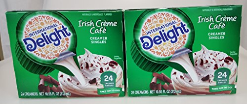 International Delight Irish Creme, 48 Creamer Singles