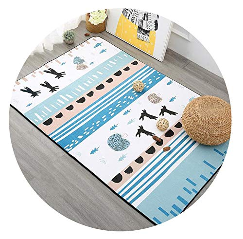 Nordic Plants Carpets for Living Room Home Decor Soft Bedroom Carpet Sofa Coffee Table Floor Mat Study Rug Kids Play Area Rugs,2,1000mmx1500mm -