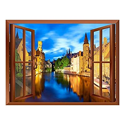 Beautiful Scenery Landscape Venice Italy View from Inside...24