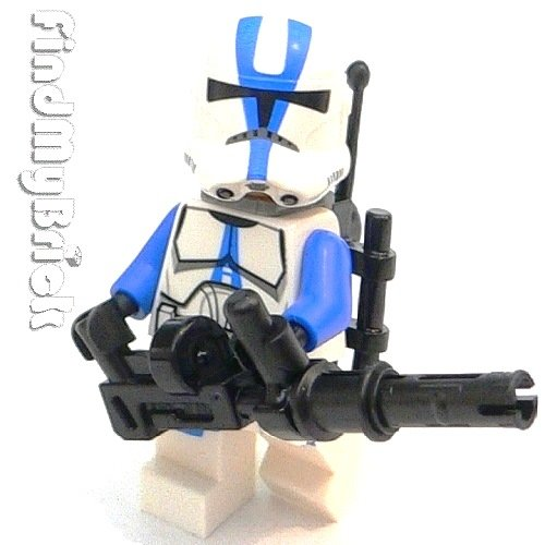 Lego Star Wars 501st Legion Clone Trooper Minifigure LOOSE from 75002 (NEW Lego Sold Loose as Image Show) SW659BG ()
