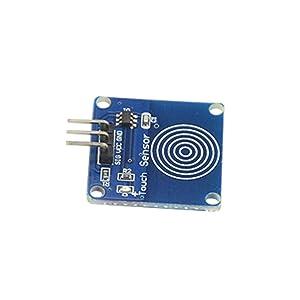 WMYCONGCONG 20 PCS TTP223B Digital Touch Capacitive Sensor Switch Module DIY for Arduino (20PCS) (Tamaño: 20PCS)