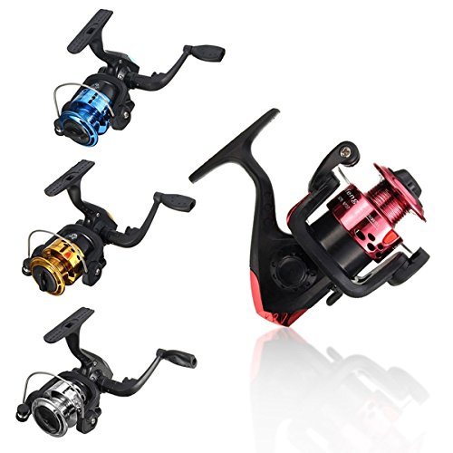 Fishagelo 3BB Fishing Spinning Reel Left/Right Fishing Reel Gear 5.2:1 (Color : Color Yellow) ()