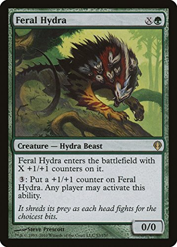 マジックザギャザリング MTG 緑 英語版 残忍なハイドラ/Feral Hydra ARC-53 レア