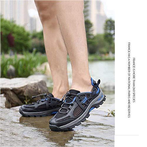 Zapato Deportivas Hombre Trekking Súper Transpirables Correr Escalada Superiores Montaña Agua Para Calzado Caminar B De Uno Zapatillas Viajes color 1IznXA