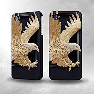 iphone covers Apple Iphone 5 5s Case - The Best 3D Full Wrap iPhone Case - Paper Sculpture Eagle