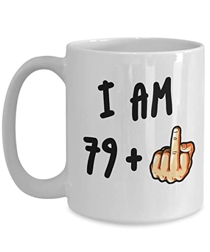 Funny 80th Birthday Gift For Women Men Turning 80 Years Old Coffee Mug Best Adult Eighty