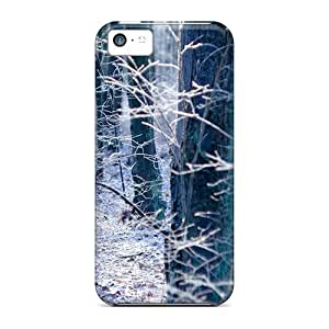 linJUN FENGiphone 5/5s Cases Bumper Covers For Autumn Season In Forest Accessories