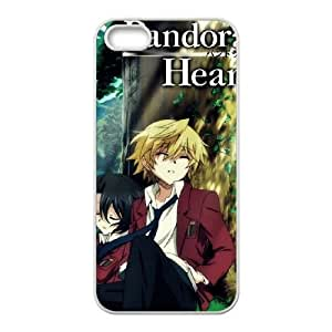 iPhone 5 5s Cell Phone Case White Pandora Hearts Lqftj