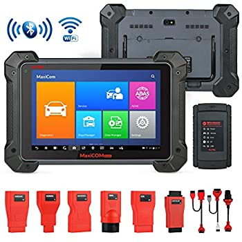 Image of Autel MaxiCOM MK908 Diagnostic Tool OBD2 Scanner with All System, ECU Coding and Service Functions Including Bi-Directional Control Active Tests, ABS Brake Bleeding, Upgraded Version of MS908 Code Readers & Scan Tools