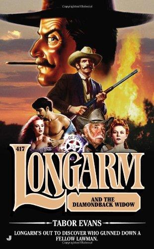 book cover of Longarm and the Diamondback Widow