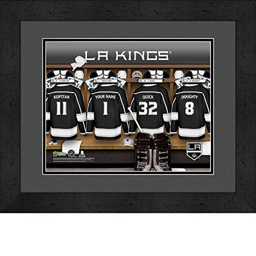 Prints Charming Locker Room Los Angeles Kings Framed Posters 16x12 ()