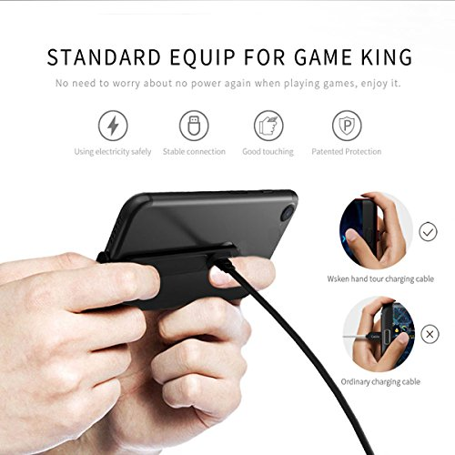 TYZEST Game Charging Cable,Hand Tour Charging Cable Lightning Charging Cable for iPhone X/8/8 Plus/7/6s/6s Plus 5S 5 5C SE,iPad and More 85%OFF